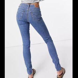 """Levi's 711 Skinny Jeans Blue Size 27"""""""
